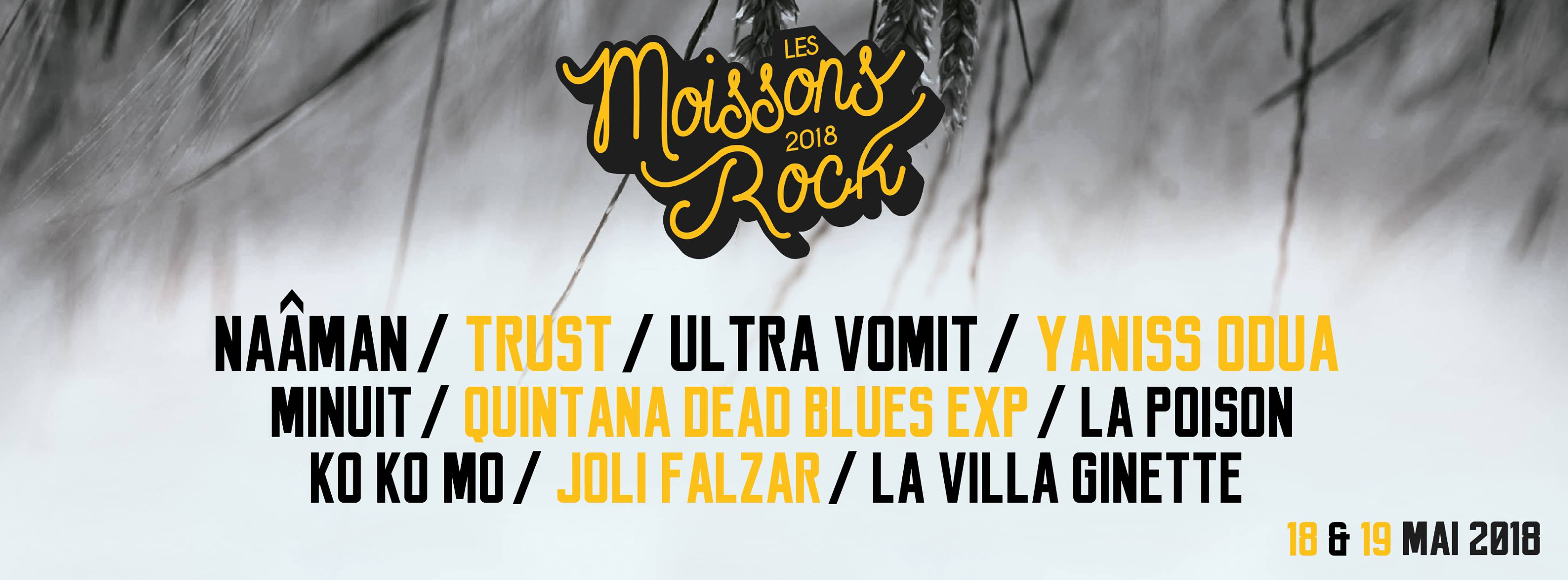 LES MOISSONS ROCK