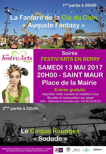 Festiv'Arts en Berry