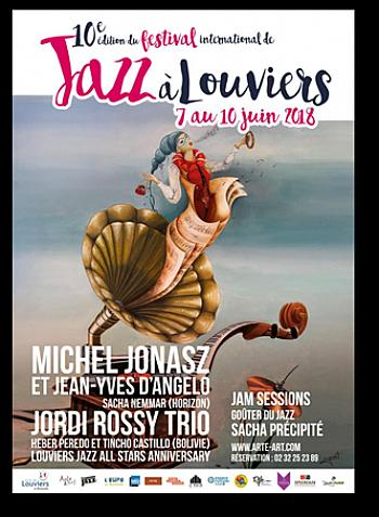 Festival international de jazz à Louviers