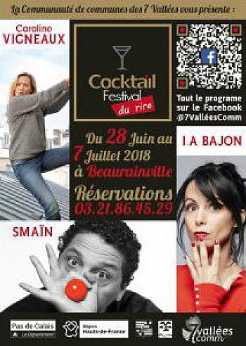 Cocktail festival du rire